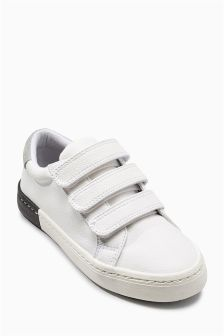 Smart Triple Strap Shoes (Older Boys)