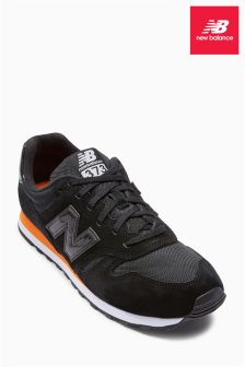 New Balance Black/Orange ML373
