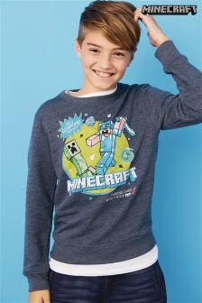 Blue Minecraft Sweater (3-14yrs)
