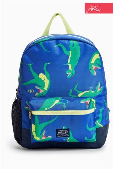 Blue Joules Blue Dinosaur Backpack