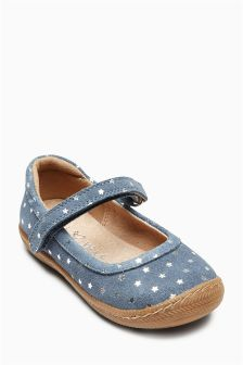 Mary Jane Star Pumps (Younger Girls)