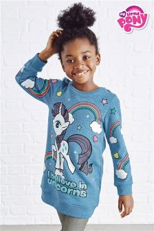 Blue My Little Pony Unicorn Glitter Sweat (3-16yrs)