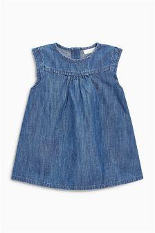 Blue Denim Dress (0mths-2yrs)