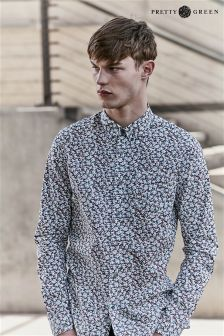 Pretty Green Woodlands Floral Print Shirt