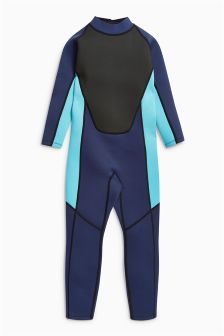 Navy Long Sleeve Wetsuit (1-16yrs)
