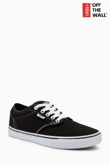 Vans Black/White Atwood Low