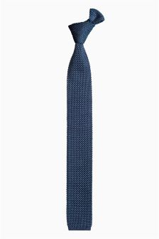 Pattern Knitted Tie