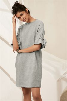 Grey Sweat Dress