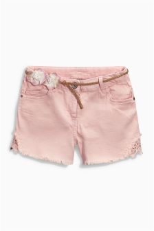 Lace Shorts (3-16yrs)