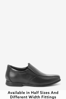 Black Formal Loafers (Older Boys)