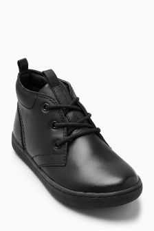 Black Chukka Boots (Older Boys)