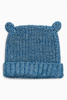 Blue Character Ears Hat (Younger Girls)
