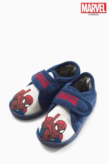 Grey Spider-Man™ Slippers (Younger Boys)