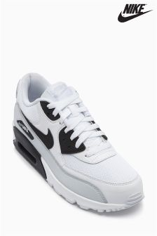 Nike White/Black Air Max 90 Essential
