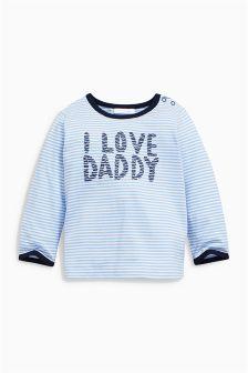 Blue Daddy T-Shirt (0mths-2yrs)