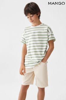 Orange Long Sleeve Swing Dress (3-16yrs)