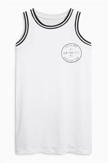 White Sporty Vest (3-16yrs)