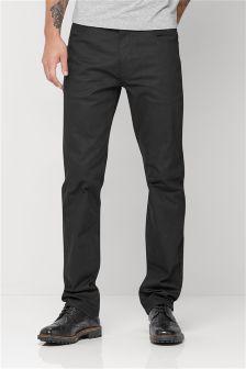 Black Smart Coated Jeans