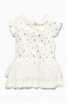 Ecru Tutu Dress (0mths-2yrs)
