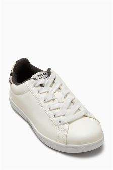 White Tennis Trainers (Older Girls)