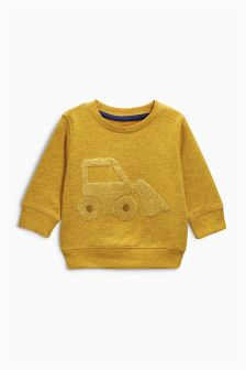 Ochre Digger Crew Top (3mths-6yrs)