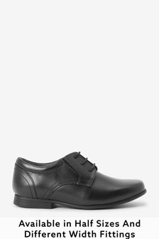 Black Formal Lace-Up Shoes (Older Boys)