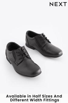 Black Formal Lace-Up Shoes (Older Boys)