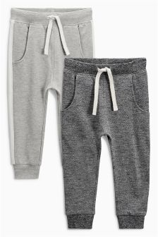 Grey Joggers Two Pack (3mths-6yrs)