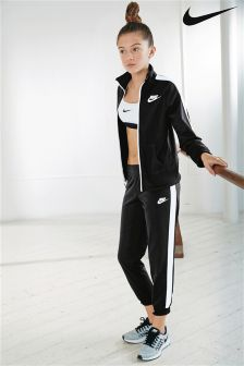 Nike Tricot Black Tracksuit