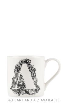 Doodle Alphabet Mug