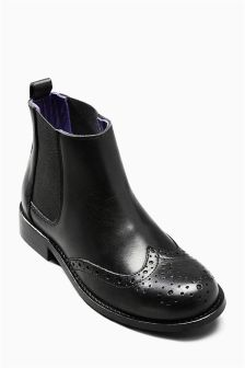 Leather Chelsea Boots (Older Boys)