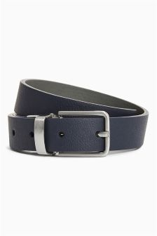 Blue/Grey Reversible Belt (Older Boys)