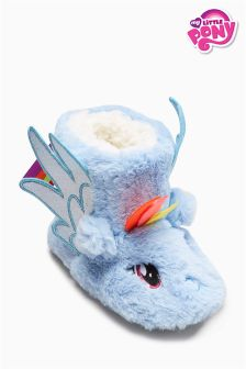 Blue My Little Pony Slipper Boots (Younger Girls)