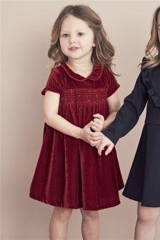 Velvet Dress (3mths-6yrs)