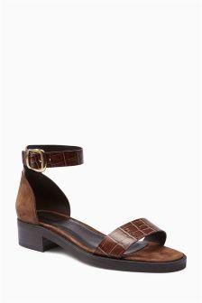 Premium Buckle Sandals