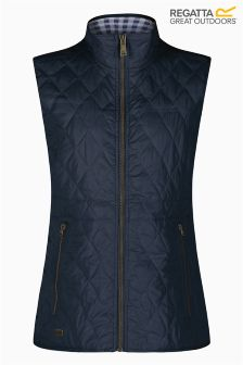 Regatta Navy Quilted Gilet