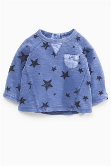 Blue Star Sweat (0mths-2yrs)