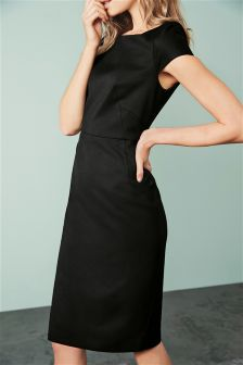 Black Tailored Dress