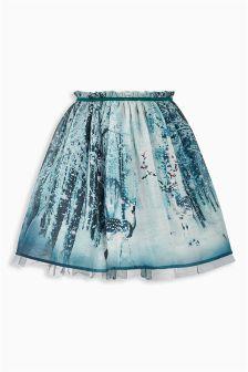 Multi Forest Scene Prom Skirt (3-16yrs)