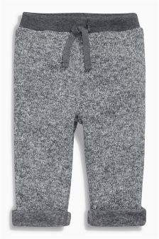 Grey Textured Joggers (0mths-2yrs)