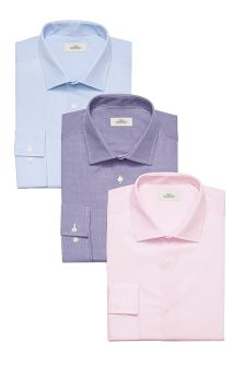 Pink, Purple & Blue Shirts Three Pack