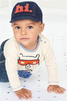 Multi Bear 3D T-Shirt (0mths-2yrs)