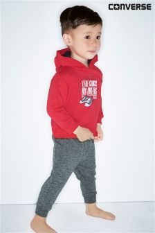 Converse Red Hooded Tracksuit