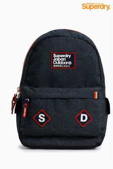 Navy Superdry Navy Jersey Backpack