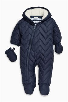 Navy All-In-One (0mths-2yrs)