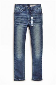 Jersey Look Denim Super Skinny Jeans (3-16yrs)