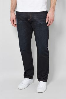 Dark Wash Jeans With Stretch