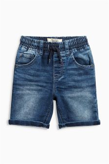 Pull-On Jersey Denim Shorts (3mths-6yrs)
