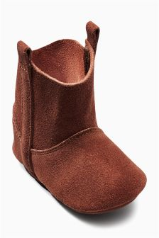 Pram Western Boots (Younger Girls)