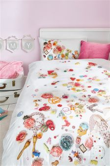 Photo Toy Box Bed Set